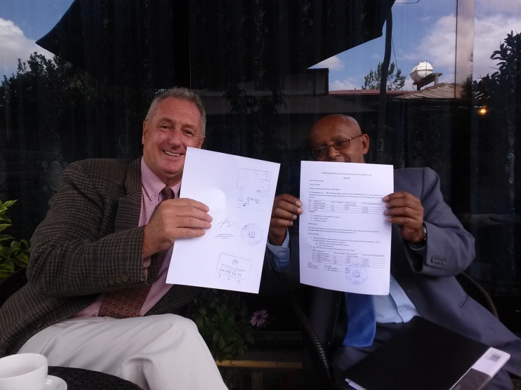 PJB III 1st Ethiopian Business License